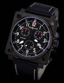 Aircraft-8 Chrono PVD Swiss Watch