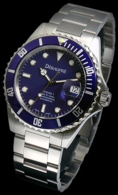 Ocean-1 Blue / Blue Swiss Watch